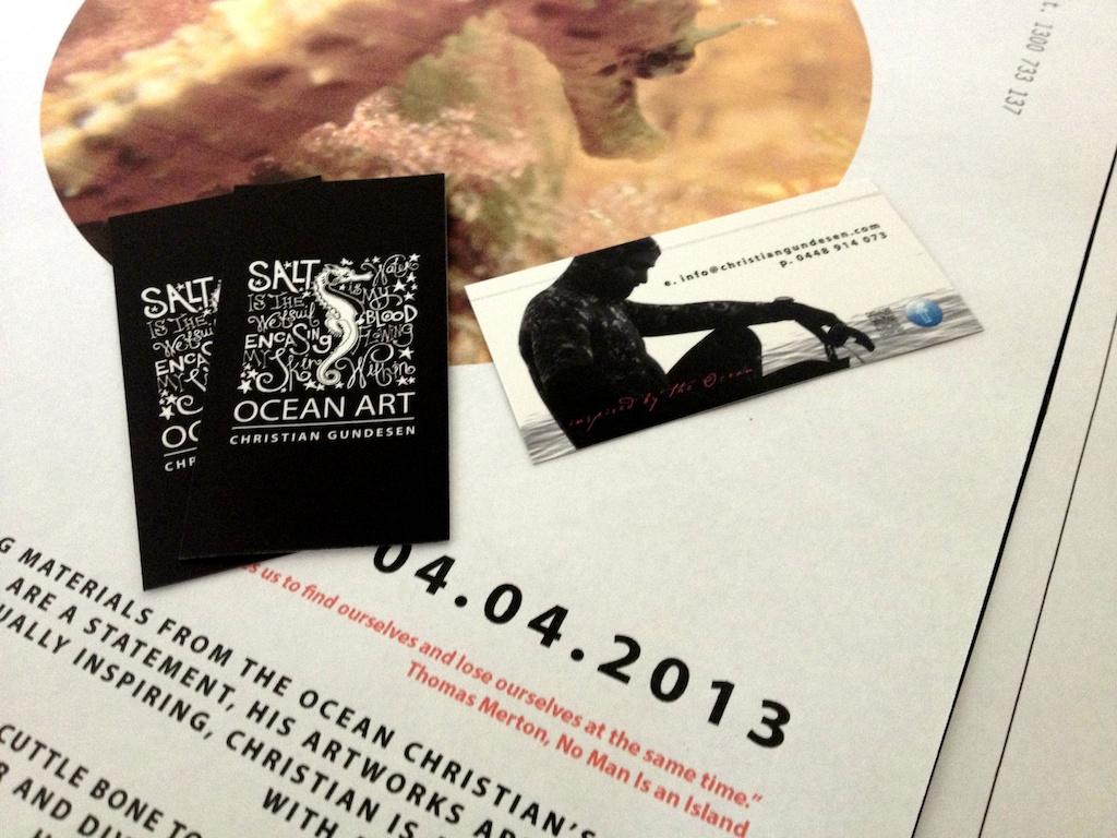 Christian Gundesen OceanArt branding
